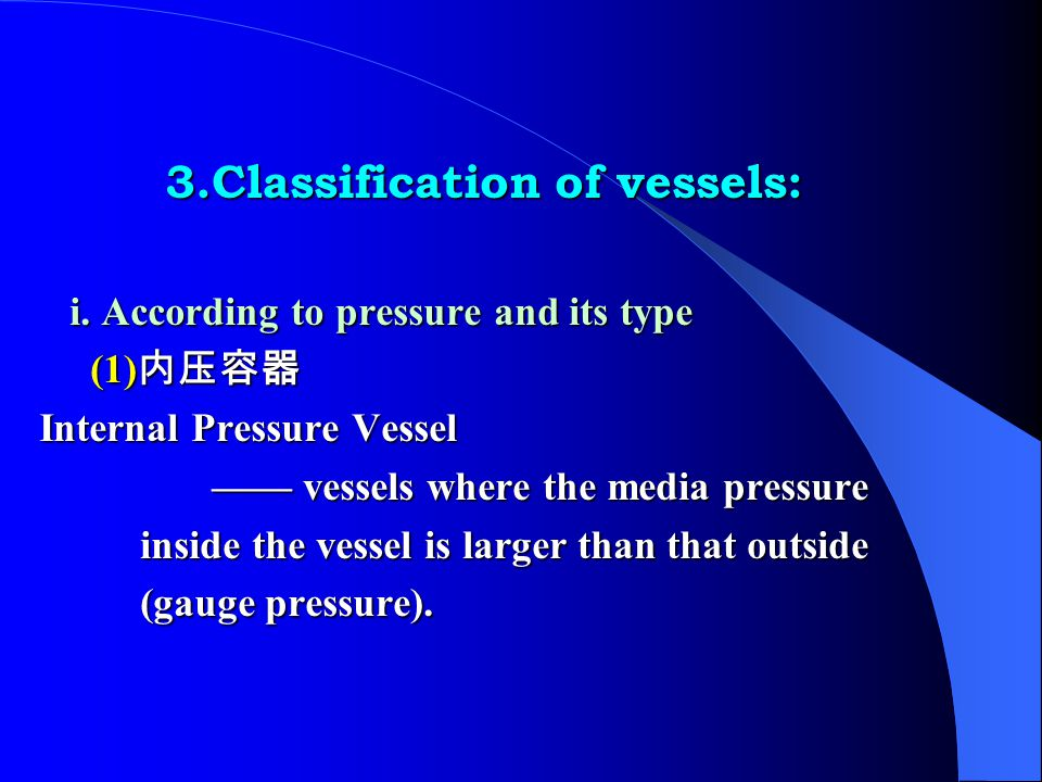 For example: There is a horizontal external pressure vessel.