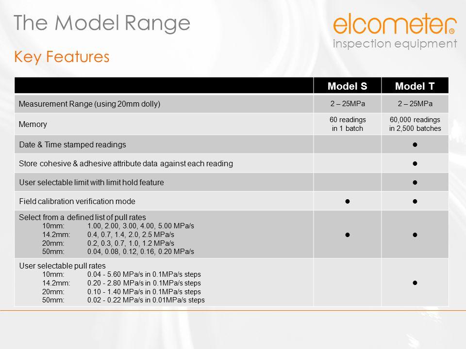 inspection equipment Elcometer 510 Model S