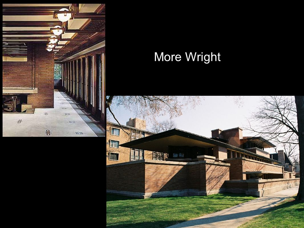 More Wright