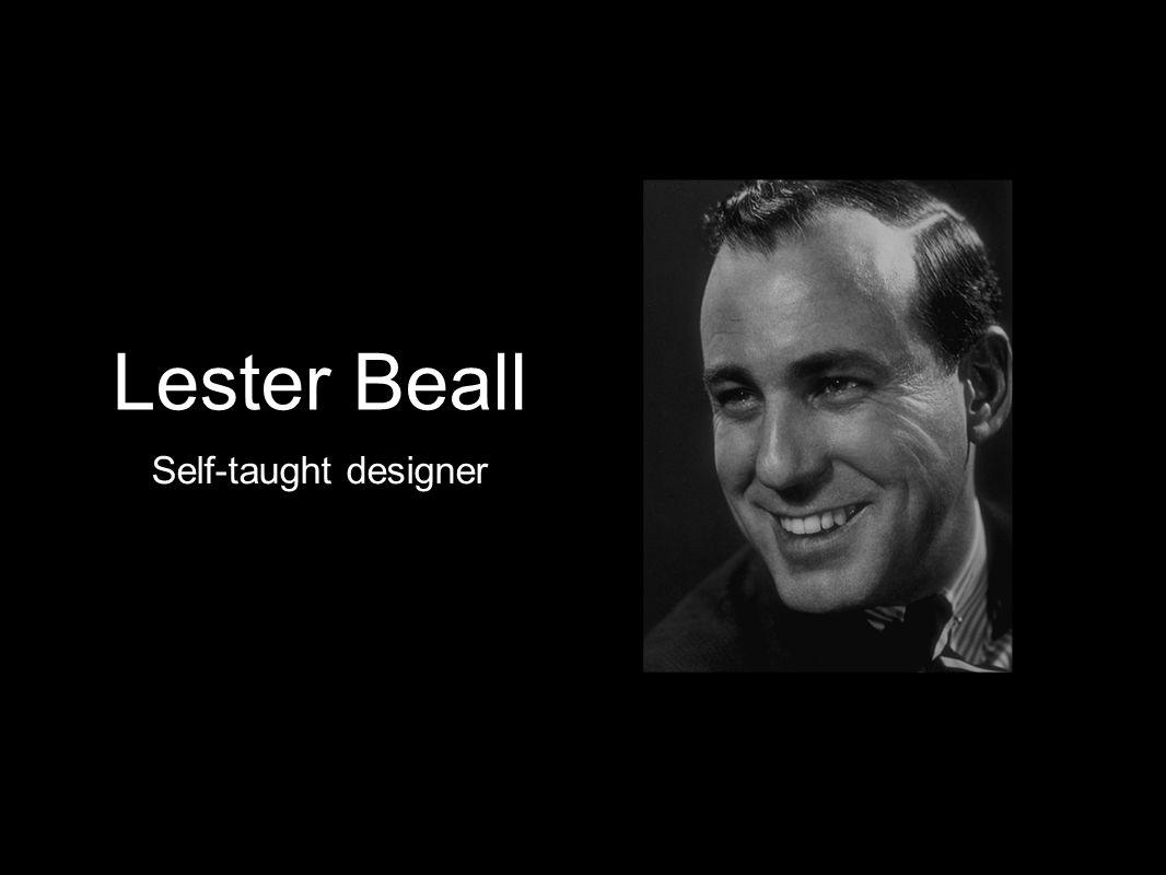 Lester Beall Self-taught designer