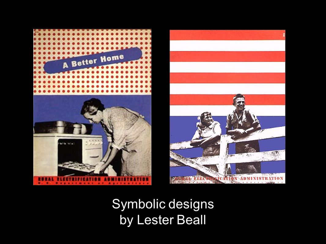 Symbolic designs by Lester Beall