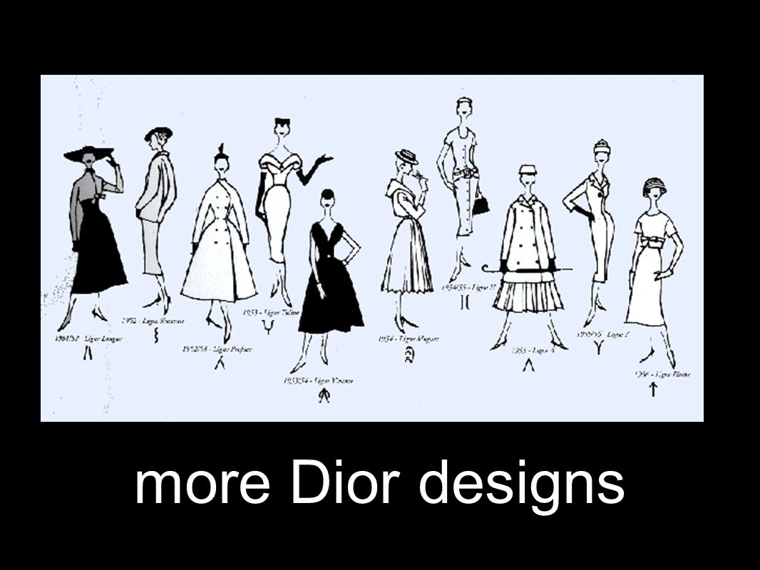 more Dior designs