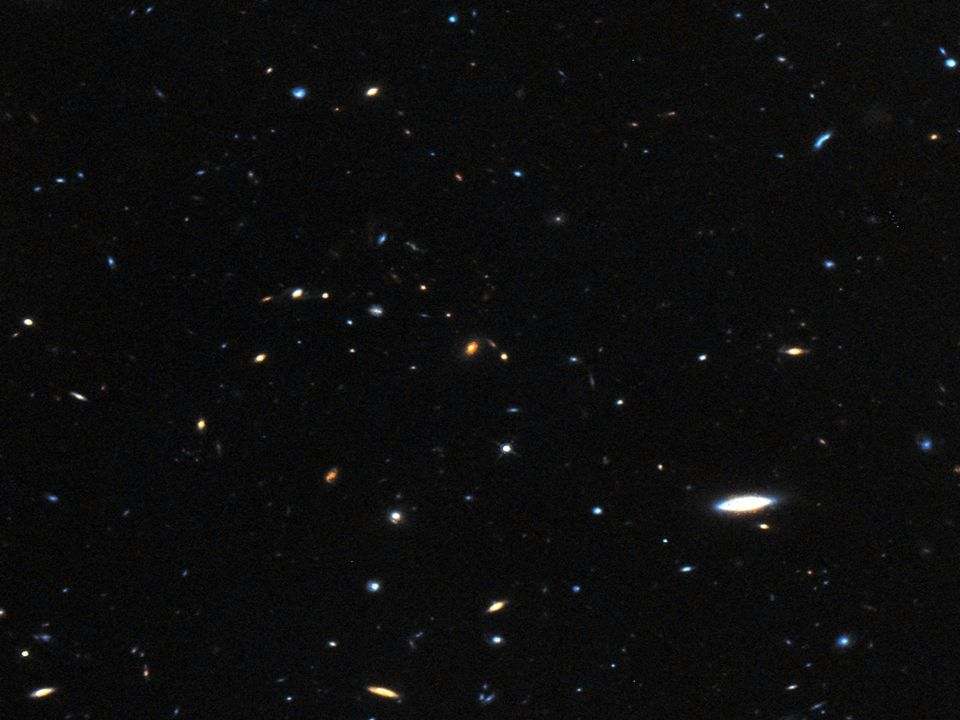 At z  ,  candidate galaxies in Wide 100 objects here 50 objects here