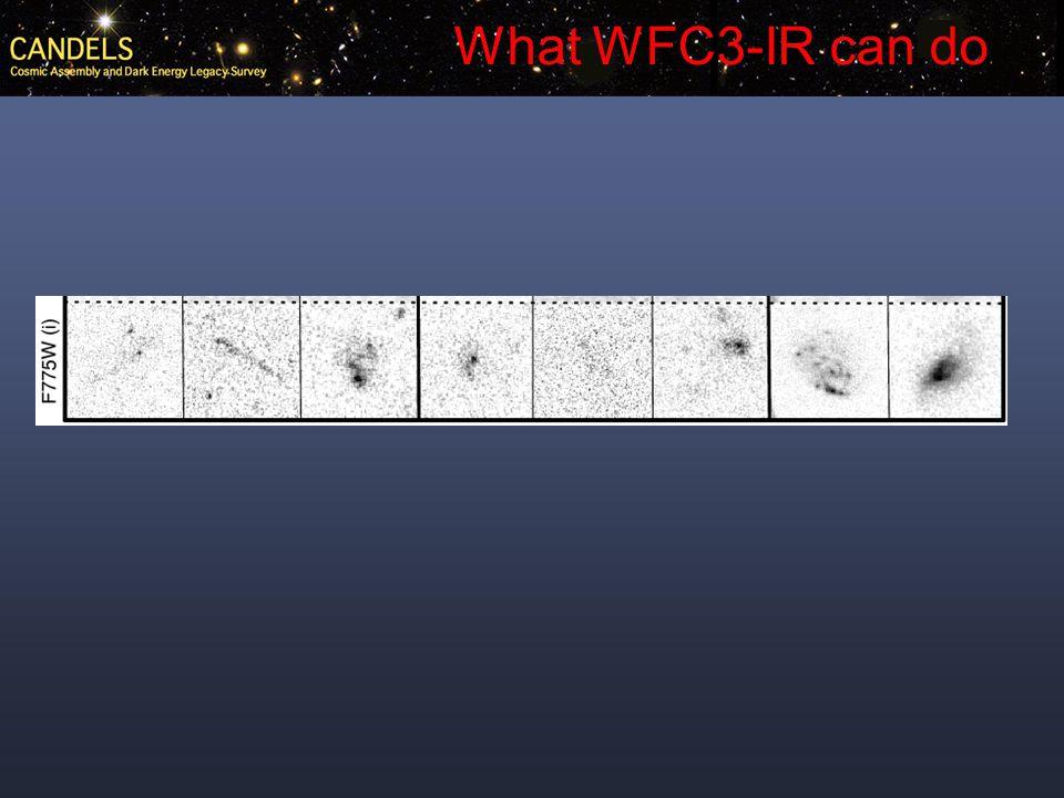 WFC3 array 1 orbit GOODS-S strategy
