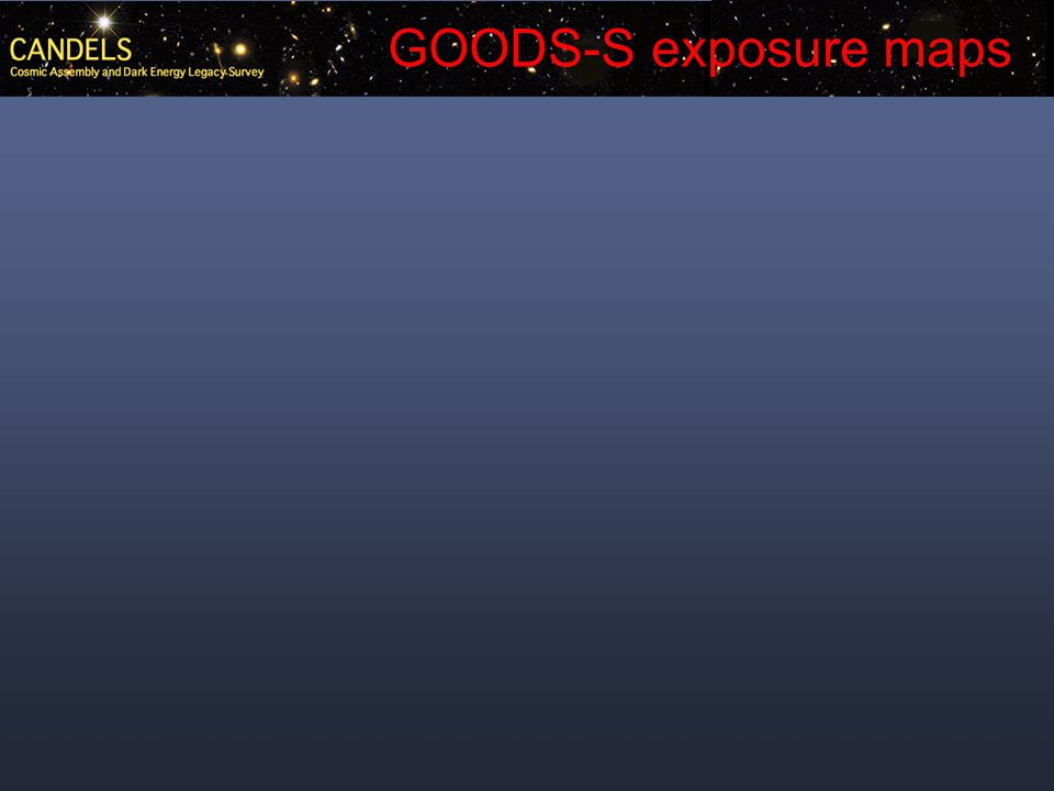 GOODS-S exposure maps