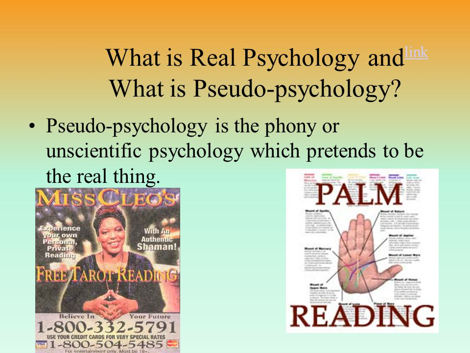 WHAT IS PSYCHOLOGY ANSWER: The Scientific study of behavior and mental processes.