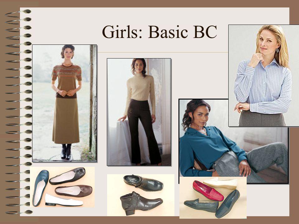 Girls: Basic BC