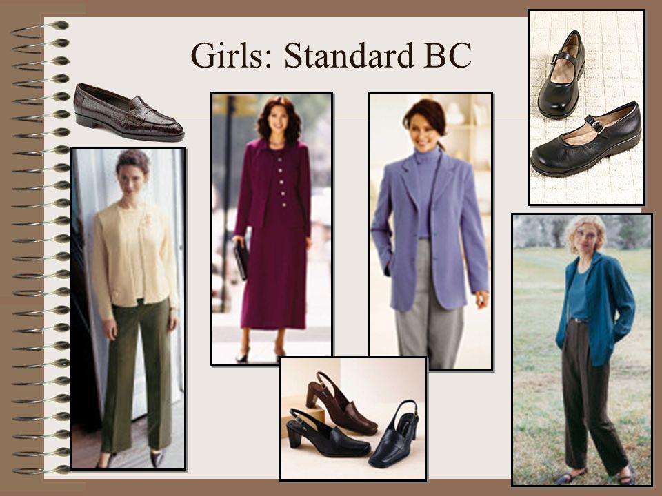 Girls: Standard BC
