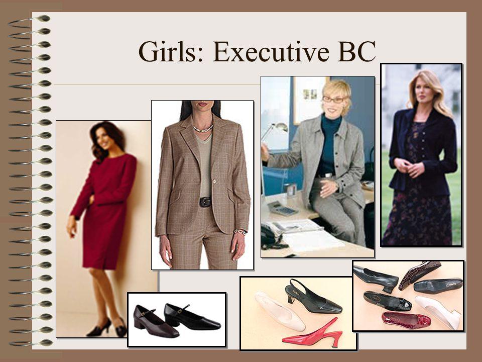 Girls: Executive BC