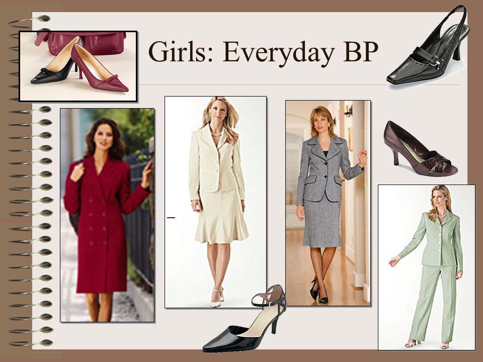 Girls: Everyday BP