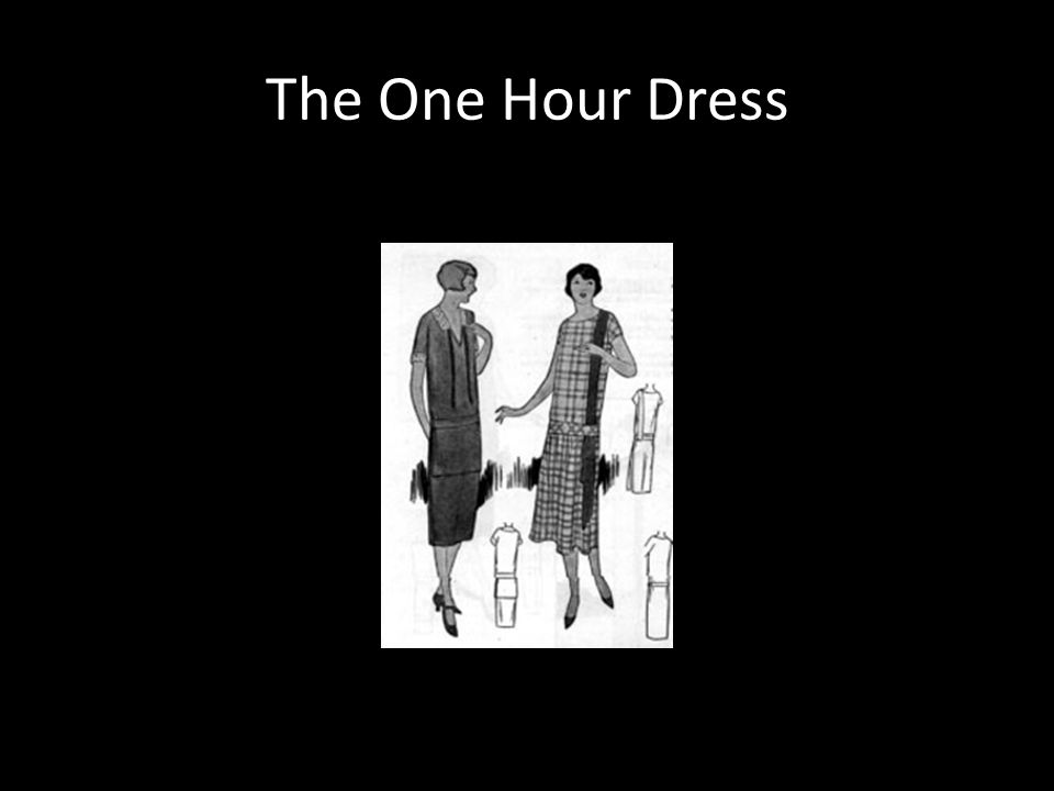 The One Hour Dress