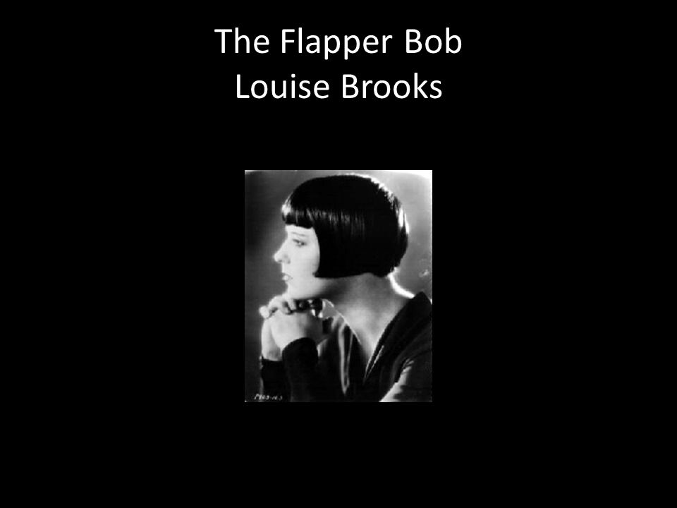 The Flapper Bob Louise Brooks