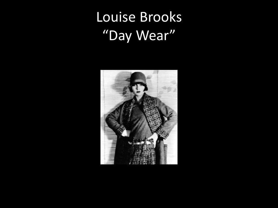 Louise Brooks Day Wear