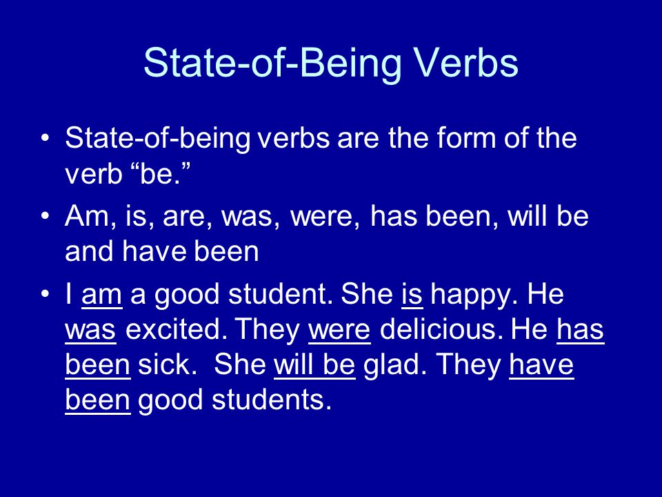 HELPING VERBS Helping verbs help action verbs to be in the correct tense.