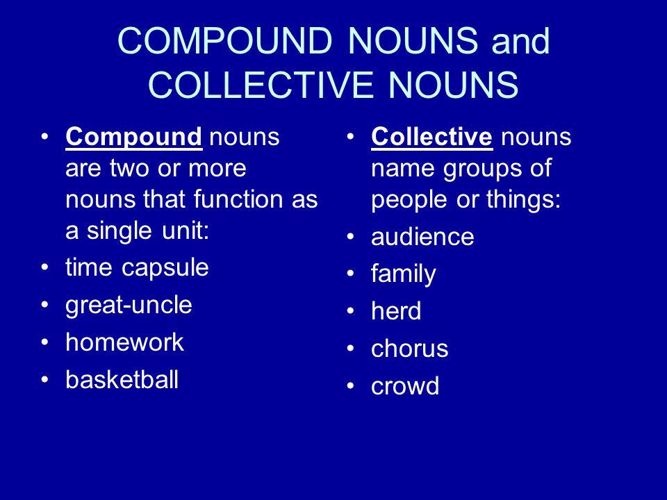 SINGULAR AND PLURAL NOUNS Singular nouns name ONE.