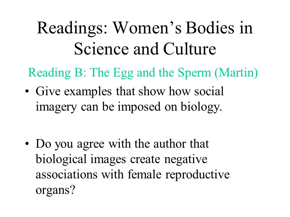 Readings: Women's Bodies in Science and Culture Reading C: A Welcoming Soil: Islamic Humoralism (Laderman) Using Islamic humoralism as example, explain the process by which one quality transferred to others, can create cultural definition of sex.
