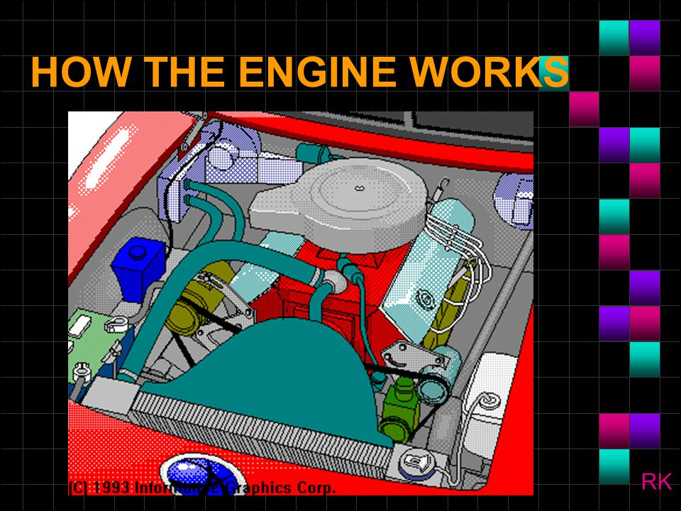 CYLINDER BLOCK n The cylinder block is the foundation to which all other components are attached.
