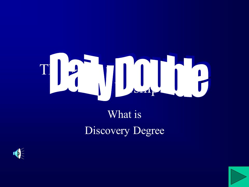 The newest degree of active membership. What is Discovery Degree