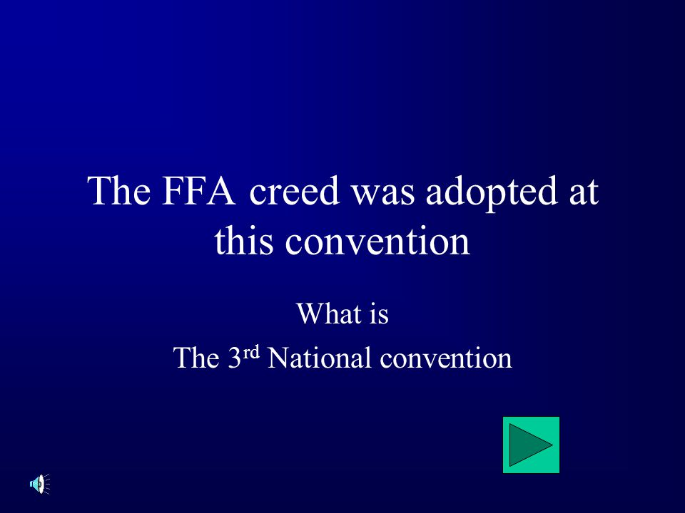 The National FFA was formally launch in Kansas City in this year. What is 1928