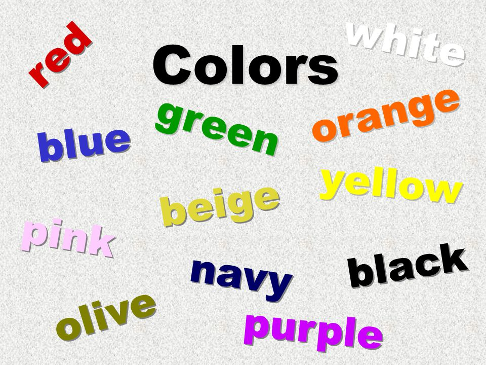 Colors red green black olive pink beige purple orange blue yellow white navy