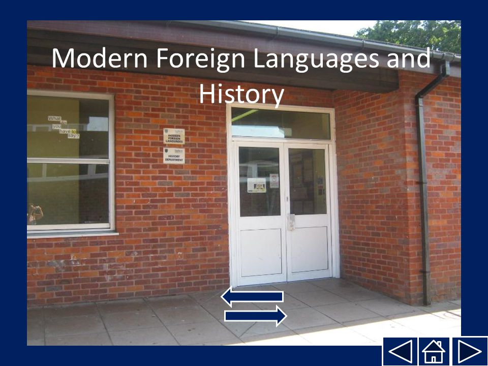Modern Foreign Languages and History