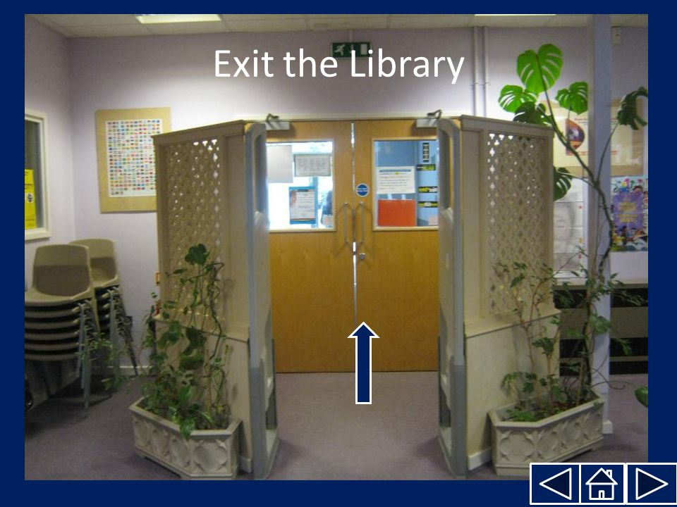 Exit the Library