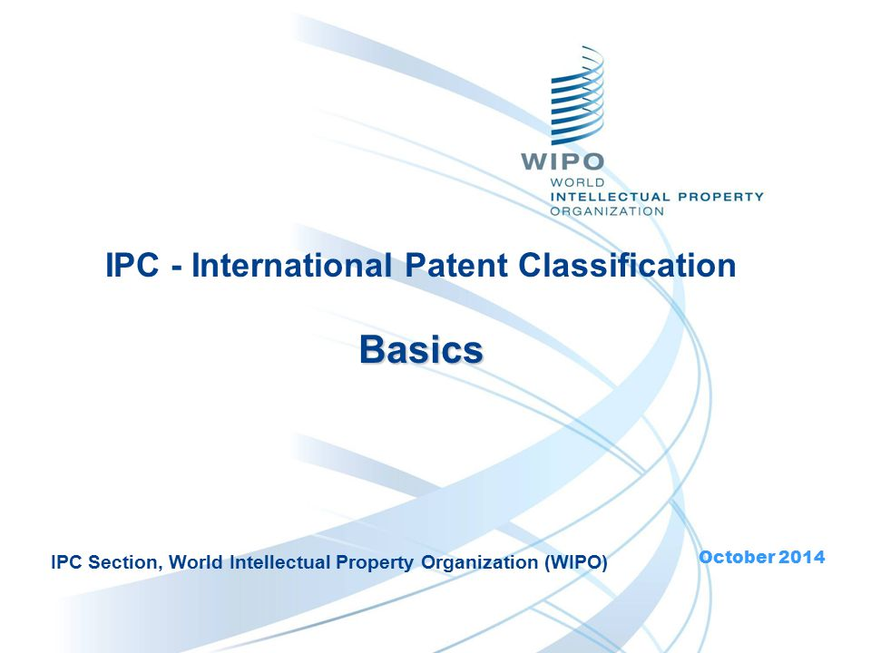 22 Scope of IPC Group Scope (content) is defined by titles  Sections, Classes: titles give broad indication of the contents  Subclasses, groups: titles define the content as precisely as possible N.B.
