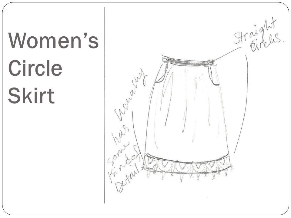 Women's Circle Skirt