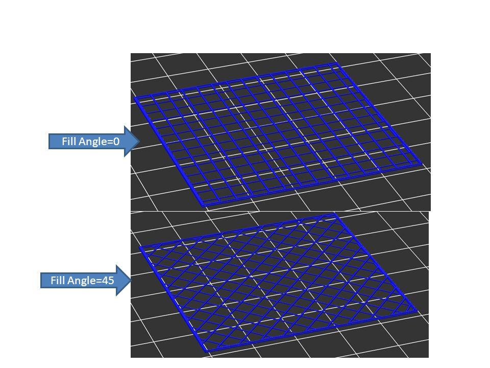 Fill Angle=45 Fill Angle=0