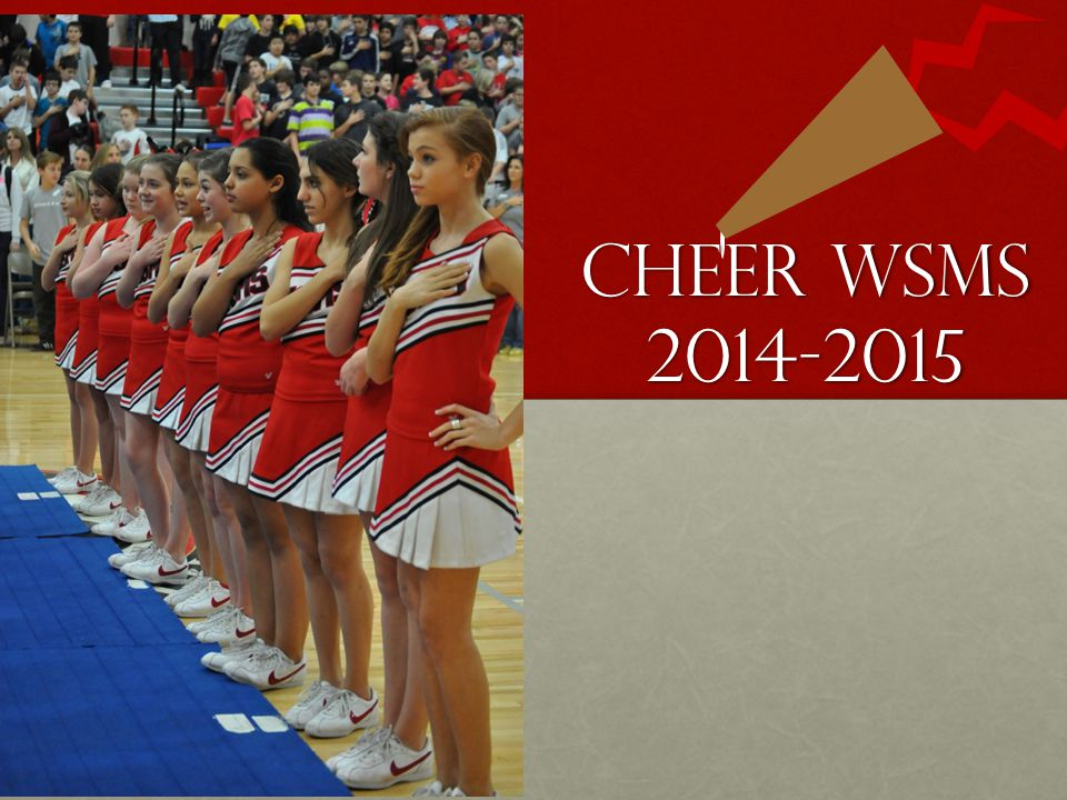 Physicals Students are required to have a physical on file before participating in cheerleading camp.