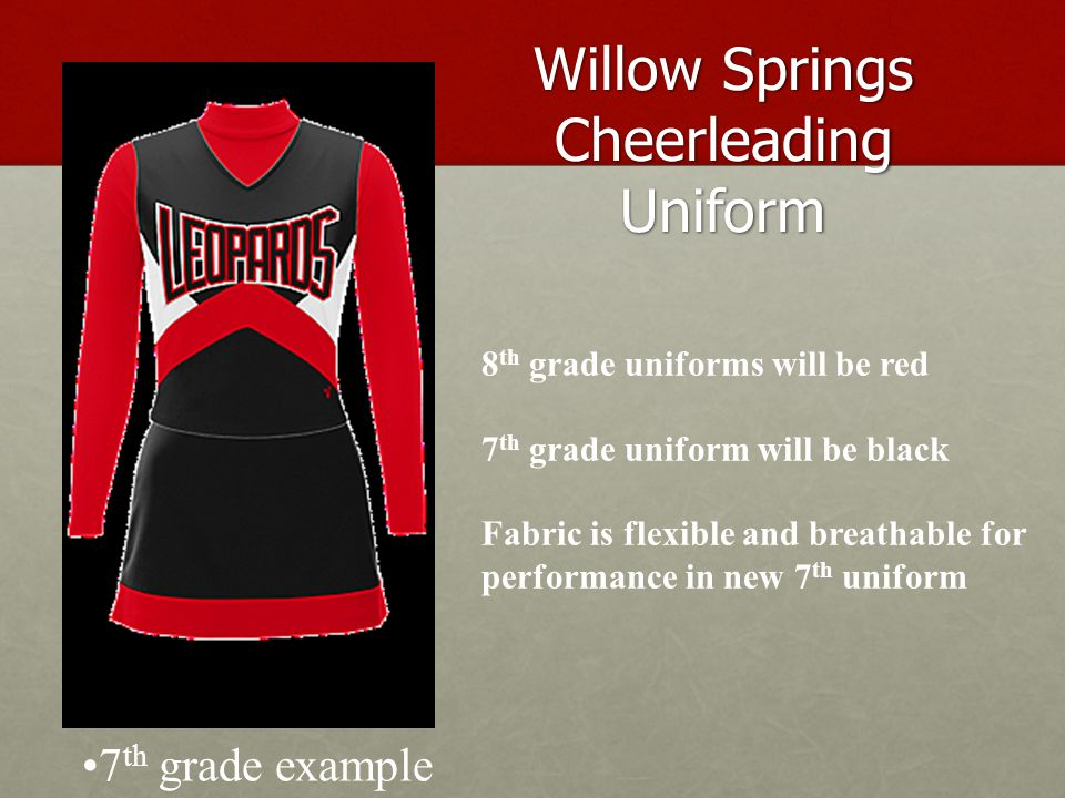 Basketball Games 7 th grade cheerleaders will cheer at their assigned 7 th grade boys' home basketball games.