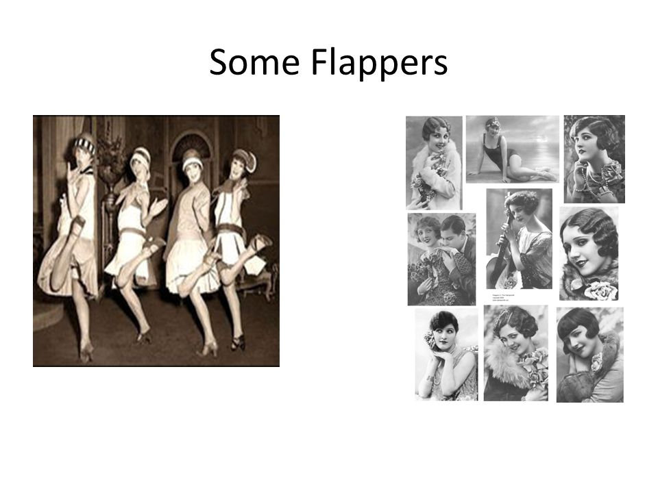 Some Flappers