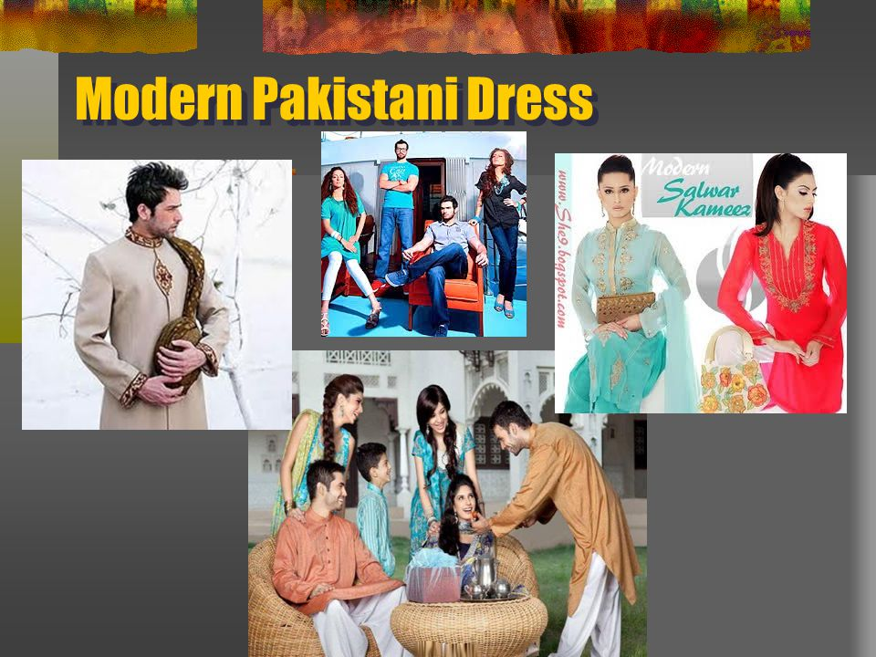 Modern Pakistani Dress