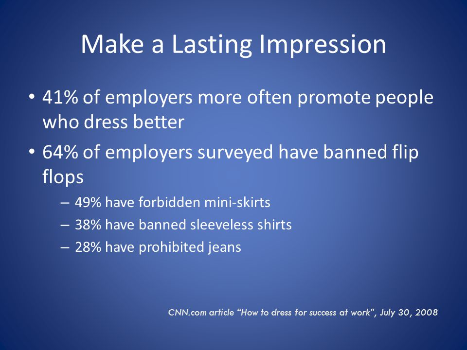 Job experts and employers are split on the notion of pants vs.