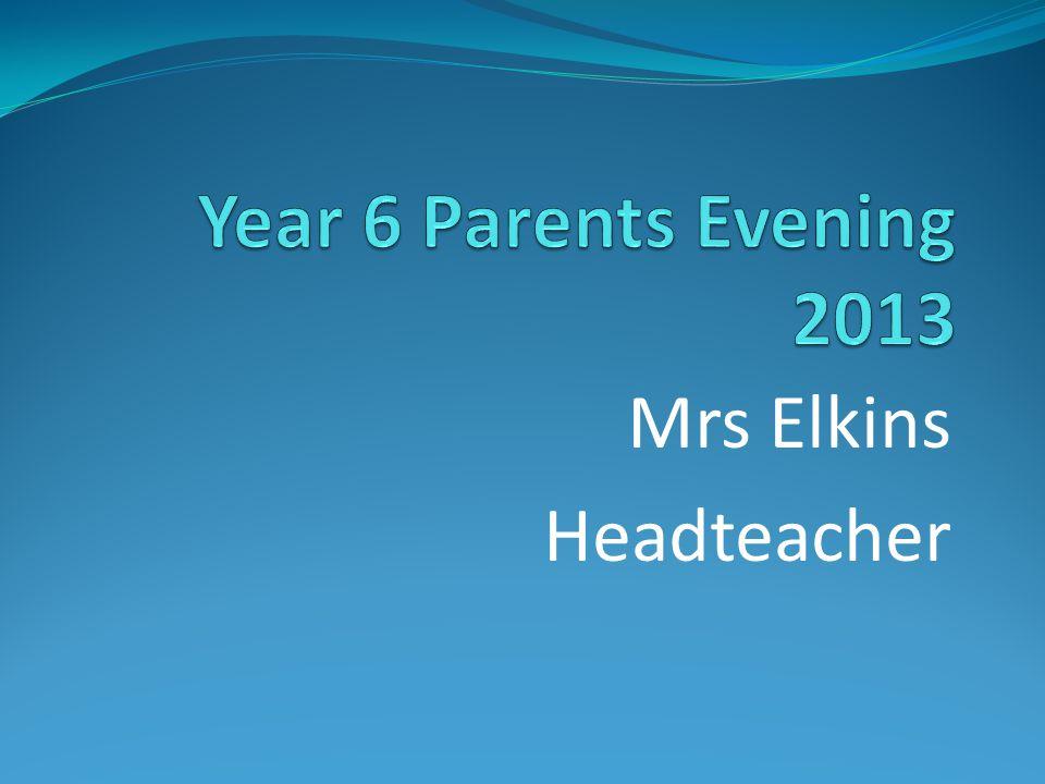Mrs Elkins Headteacher