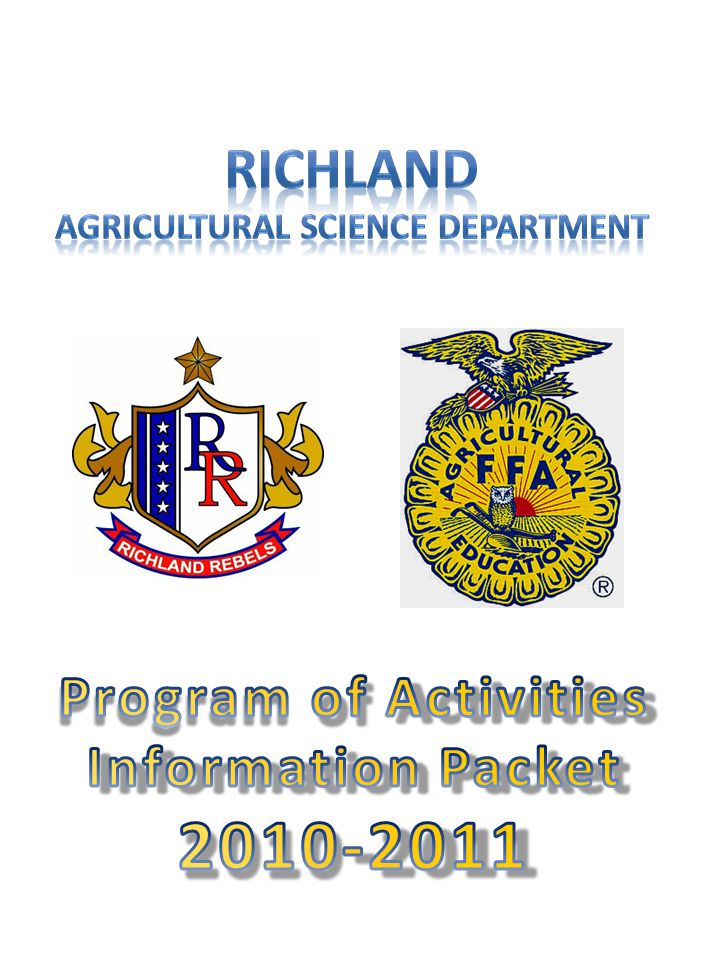 Possible Leadership Development Events Creed Speaking – 1 person, Recite the FFA Creed from memory and answer two related questions Radio – 3 people, Perform a radio broadcast, as if the broadcast was part of an ongoing weekly radio show Skills Demonstration – 3-5 people, Demonstrate a skill that can be learned in an any one of the agricultural education classrooms Chapter Conducting – 8 people, Parliamentary procedure, hold a mock meeting and apply proper parliamentary procedure to scenario given Public Relations – Publicize Texas FFA to selected audience and answer questions about the presentation FFA Quiz – 4 people, Take a test over FFA knowledge, the information comes from the FFA Handbook, and Gray's parliamentary guide Job Interview – 1 person, Develop a resume, apply for a job, and participate in a mock interview Information attained from the Texas FFA Website