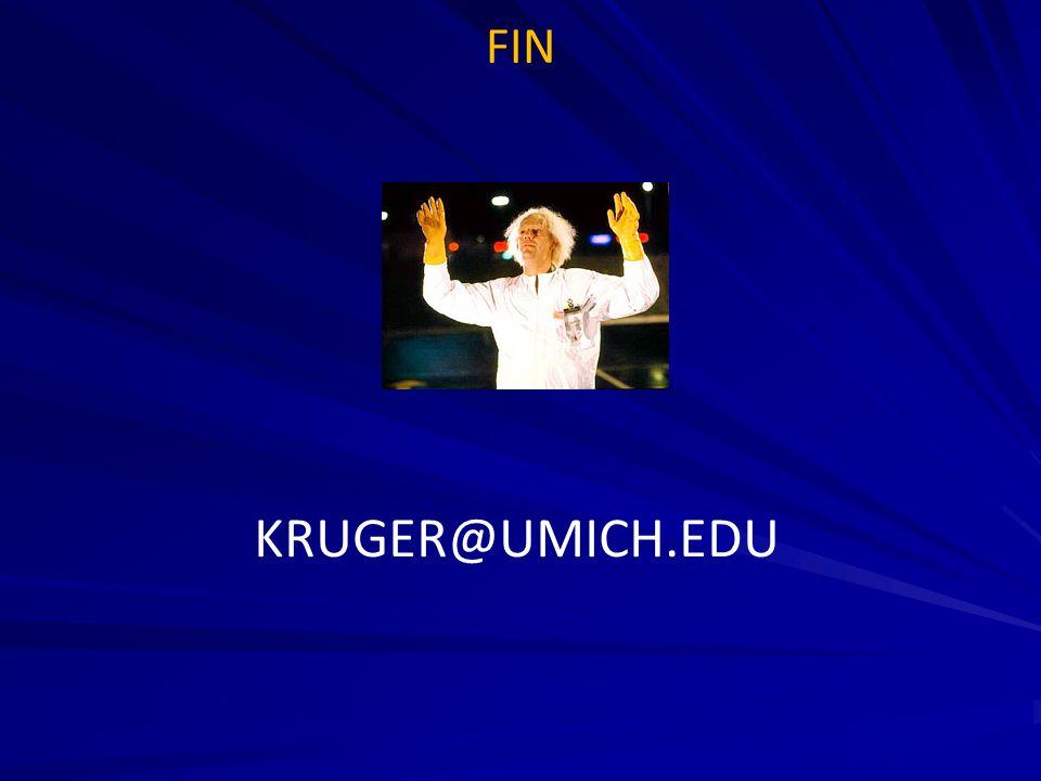 FIN KRUGER@UMICH.EDU