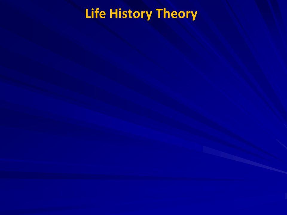 Life History Theory