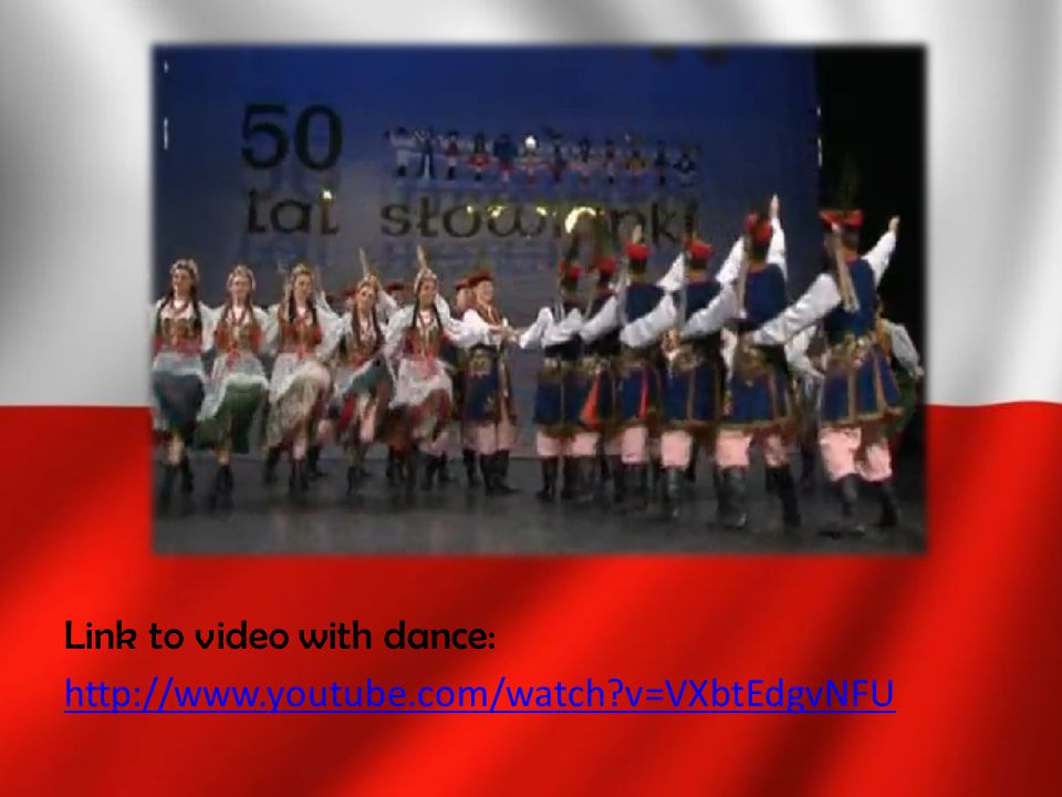 Link to video with dance: http://www.youtube.com/watch?v=VXbtEdgvNFU