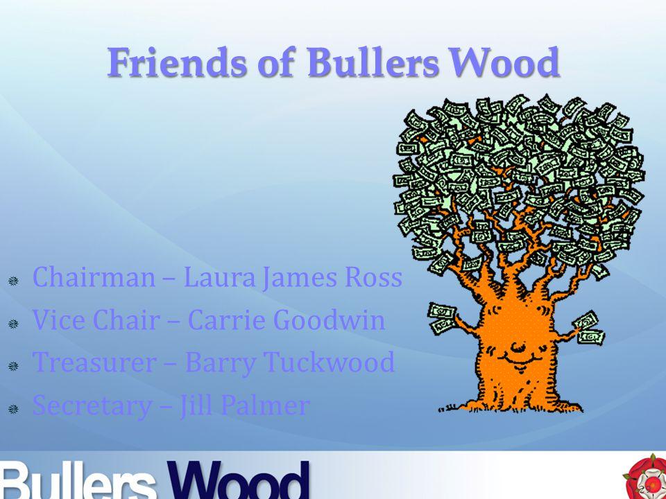  Chairman – Laura James Ross  Vice Chair – Carrie Goodwin  Treasurer – Barry Tuckwood  Secretary – Jill Palmer 29