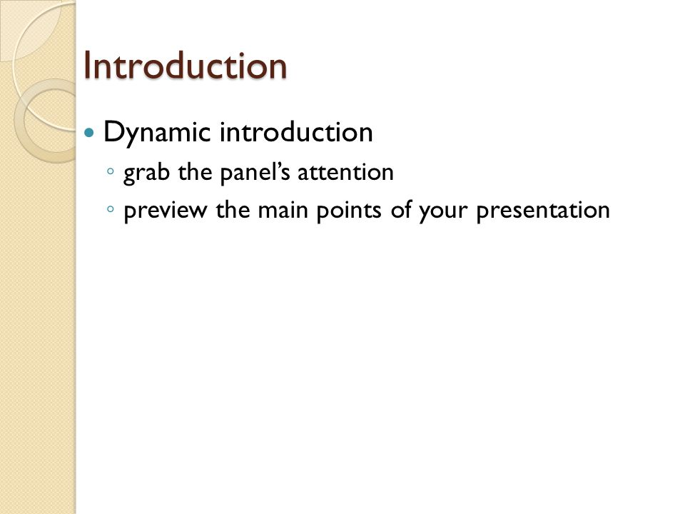 Presentation Do's & Don'ts DON'T: Dress inappropriately (you know what we mean girls) Think that you have taken debate or forensics so you can wing it Talk at length about your research paper instead of your project Write your entire speech on your PowerPoint slides Read your speech from your PowerPoint or from note cards Forget to advance the slides as you are speaking