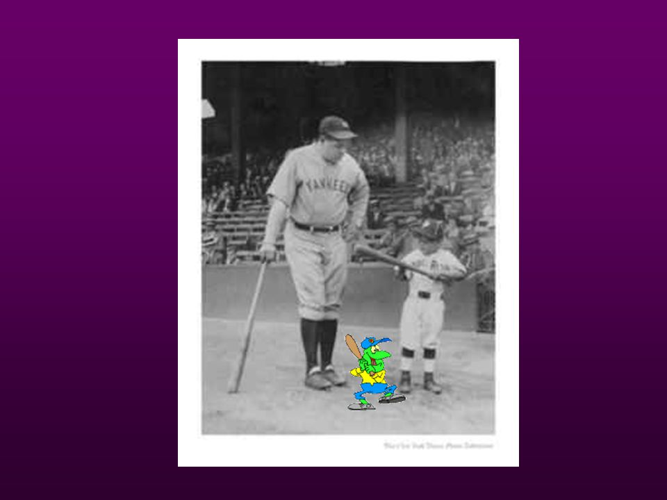 Babe Ruth 1921-1932- 7 world series 1921-1932- 7 world series 1923 –built new stadium – House that Ruth built 1923 –built new stadium – House that Rut