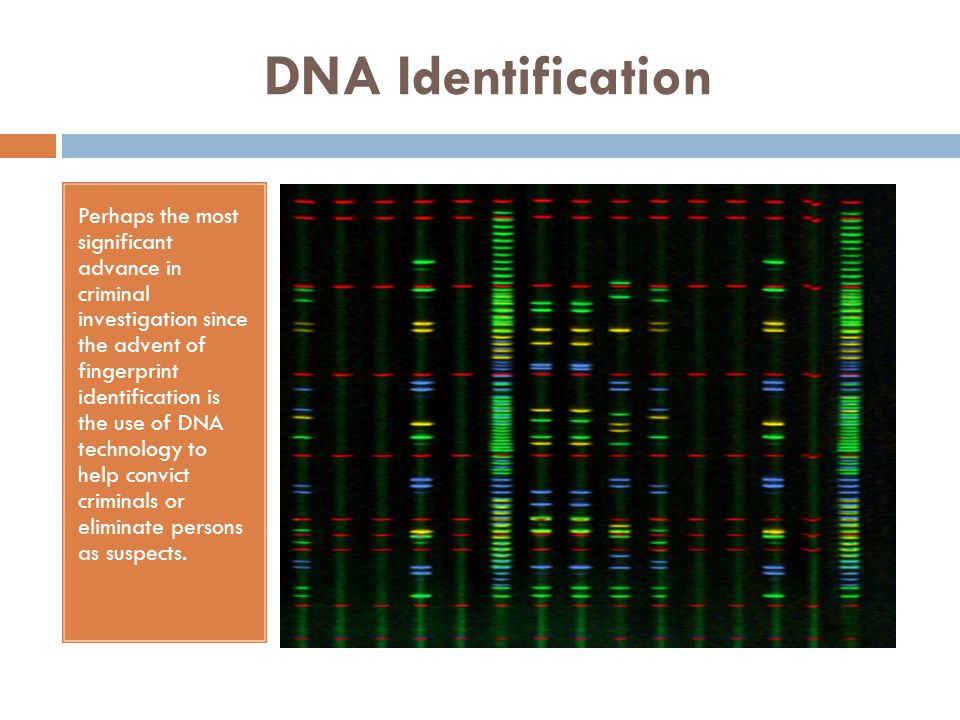 Use of DNA Evidence Since 1987, DNA analysis has been used in tens of thousands of cases that resulted in conviction.