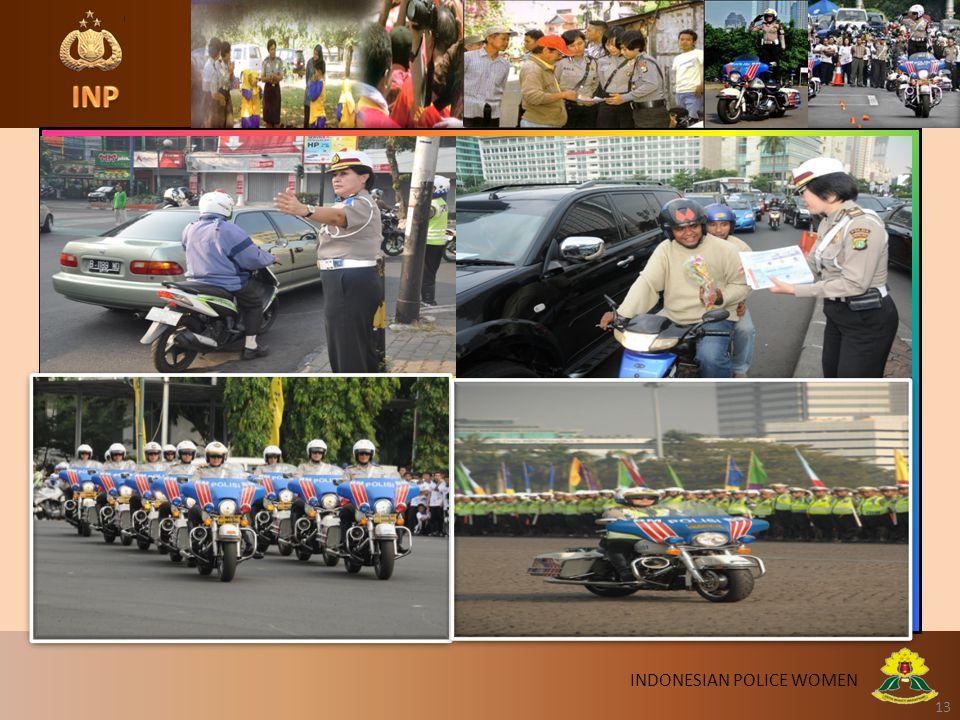 13 INDONESIAN POLICE WOMEN