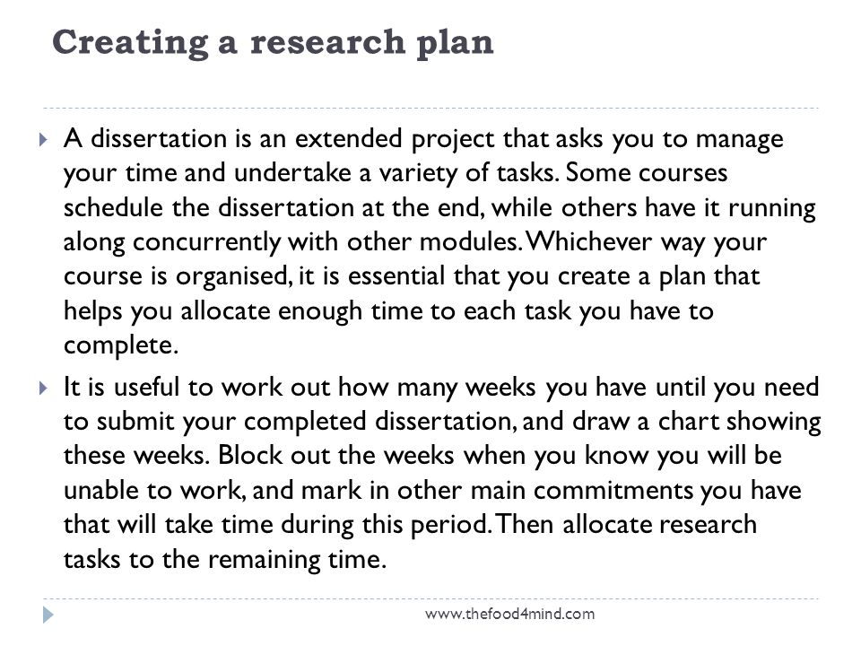 Custom dissertation writing methodology