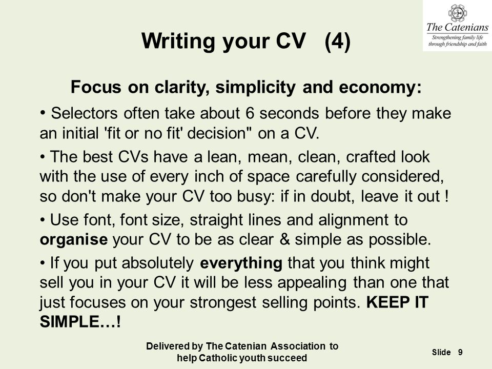 Writing your Application Letter (3) Make sure you Tick ALL their boxes – check and then double-check this.