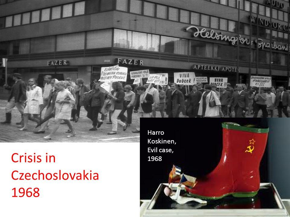 Crisis in Czechoslovakia 1968 Harro Koskinen, Evil case, 1968