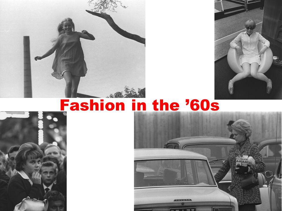 Fashion in the '60s