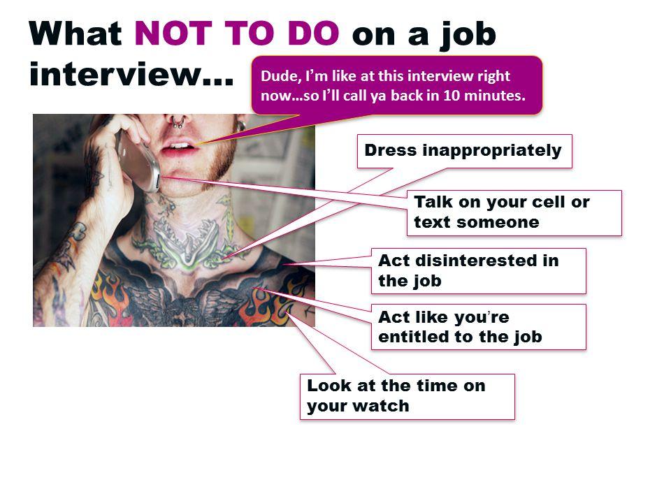 Preparation = A Successful Interview .