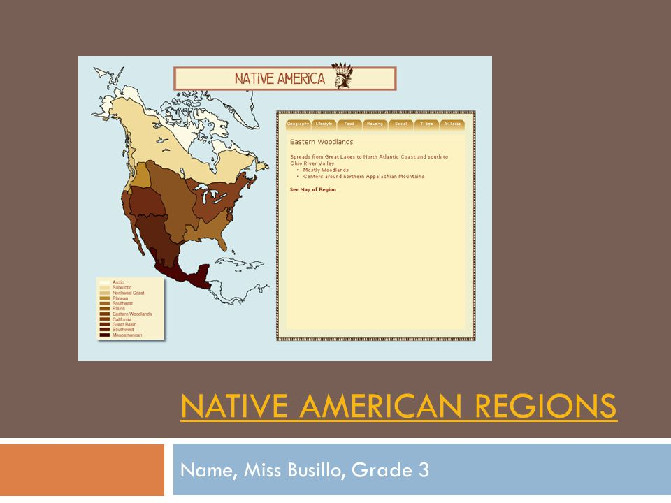 Pomo Native American  Location  They live in Califorina.